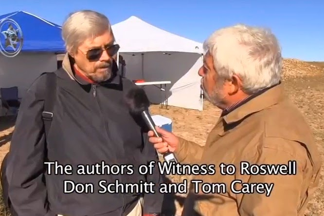 Tom Carey Interview - Roswell UFO Crash
